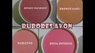 REVIEW  RUBORES DE AVON