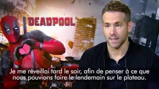 Interview Deadpool / Ryan Reynolds