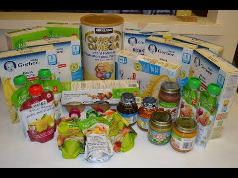 Baby Food Grocery Haul