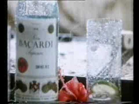 Bacardi Rum commercial from the 80s (1)