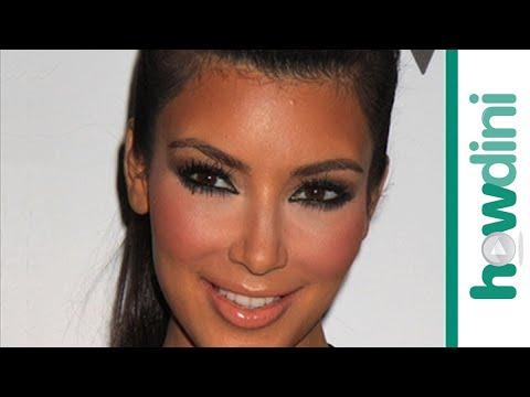 Füstös smink készítése - Smokey eye makeup tutorial - Kim Kardashian smokey eyes look