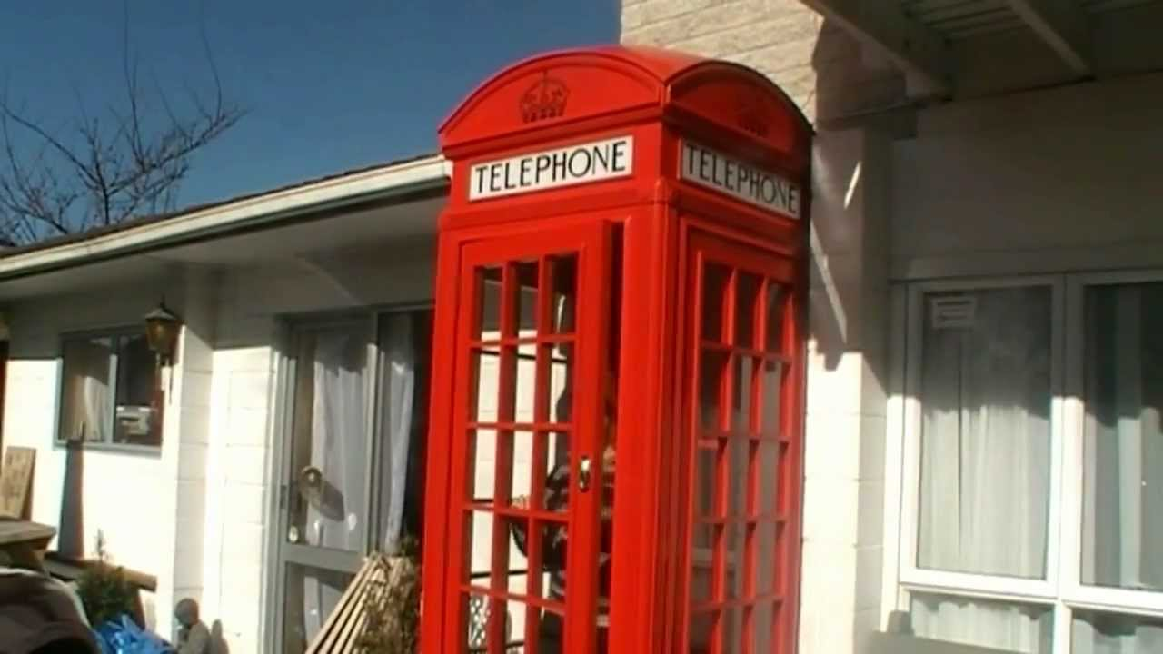 How We Made Our Red English Telephone Booth Youtube
