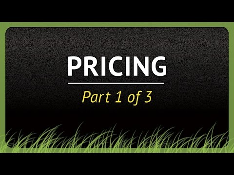 How to Price Your Lawn Services - Part 1 of 3