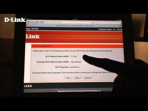How to set up D-Link DIR-505