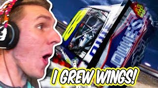 I FLEW HALFWAY TO BUTTE, MONTANA! // NASCAR 2011 Eliminator Racing