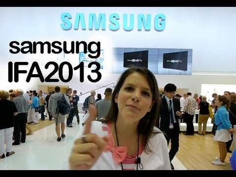 Samsung Galaxy Gear. Note 3. Note 10.1. 4K IFA 2013 review