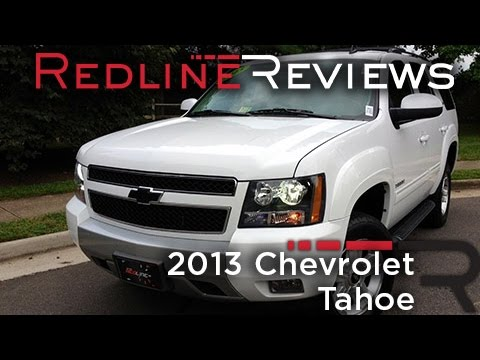 2013 Chevrolet Tahoe Review. Walkaround. Exhaust. & Test Drive