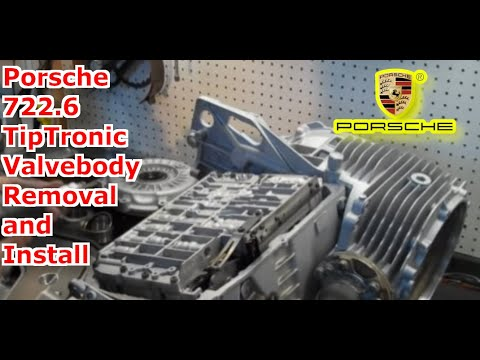 722 6 Nag1 W5a580 Tiptronic Valve Body Installation