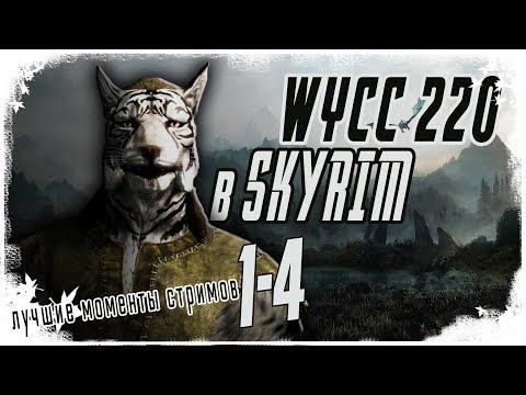 Wycc в Skyrim (лучшее со стримов) (лучшие моменты)