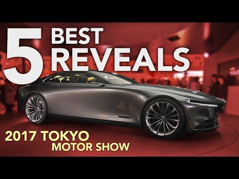 Top 5 Reveals from the 2017 Tokyo Motor Show