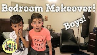 EXTREME SURPRISE BEDROOM MAKEOVER (TIME LAPSE)   KIDS REACTIONS   PHILLIPS FamBam Makeovers
