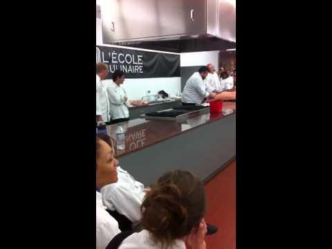 Lecole Culinaire pig butcher comp