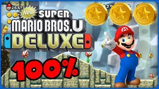 6-5 Walking Piranha Plants! ❤️ New Super Mario Bros. U Deluxe ❤️ 100% All Star Coins