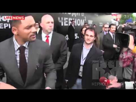 Will Smith Slaps Reporter! - HipHollywood.com