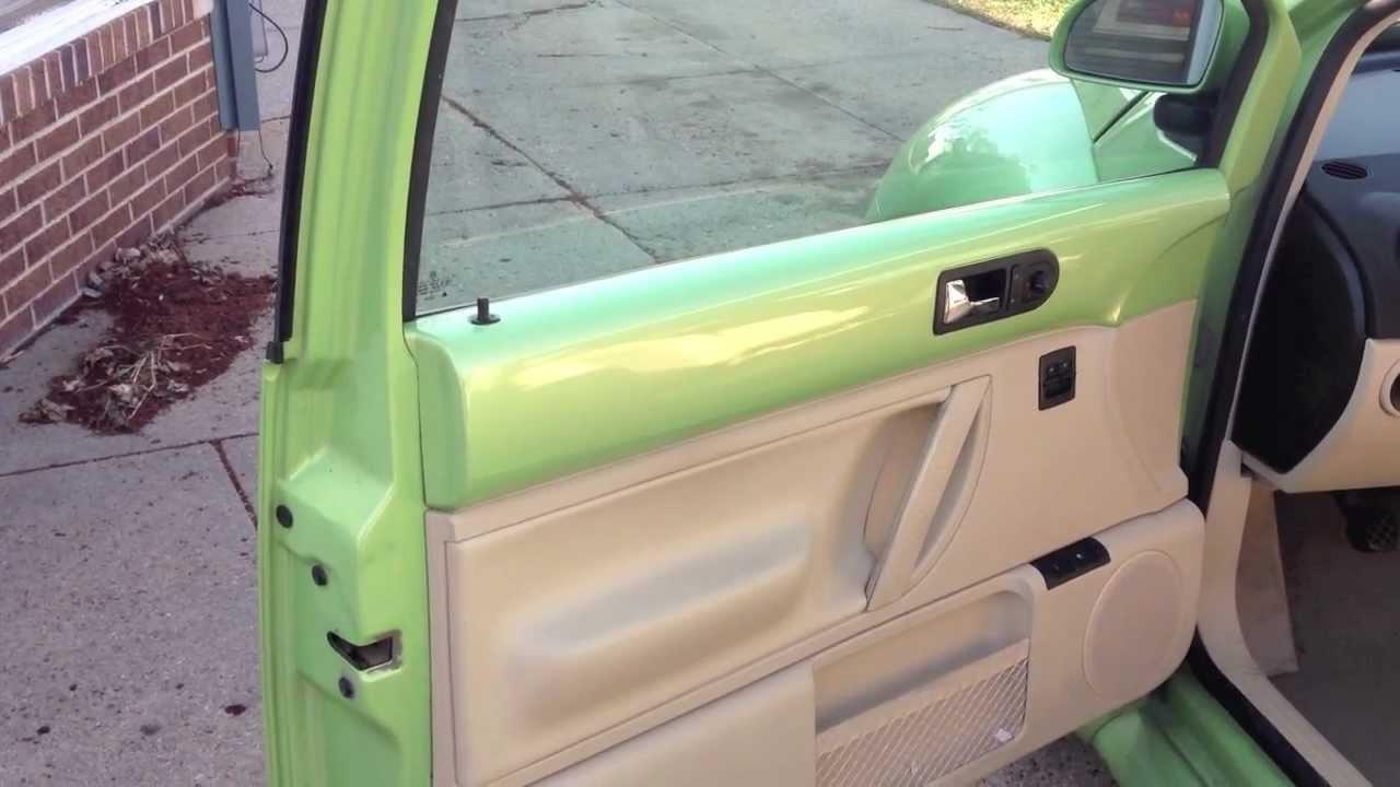 New Beetle door lock repair - YouTube