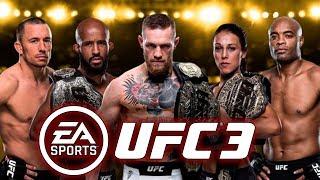 UFC 3 - 2018 [Карьера] - Прохождение на русском - часть 1 - Рождение новой легенды