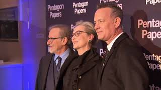 Pentagon Papers (The Post) Paris Premiere - BROLL (official video)