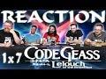 Code Geass 1x7 REACTION!!