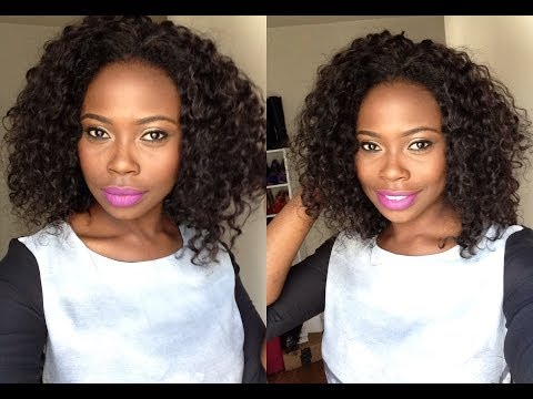 How I make my curly wig with no closure  Ivy Method  Exotic Hair LA