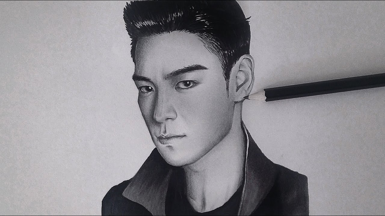 Top Bigbang Drawings T.o.p(최승현 Speed Drawing