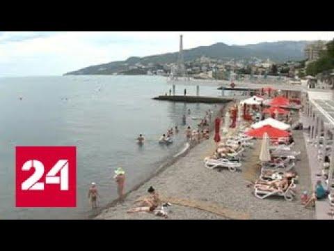 Погода 24: море в Крыму и Сочи не хуже Средиземного