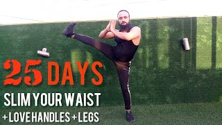 2 EASY EXERCISES TO LOSE YOUR SIDE FAT (LOVE HANDLES) & THIGH FAT