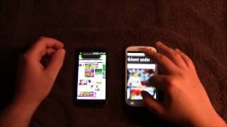 Hurtighed: HTC One X vs Samsung Galaxy S III (DANSK)