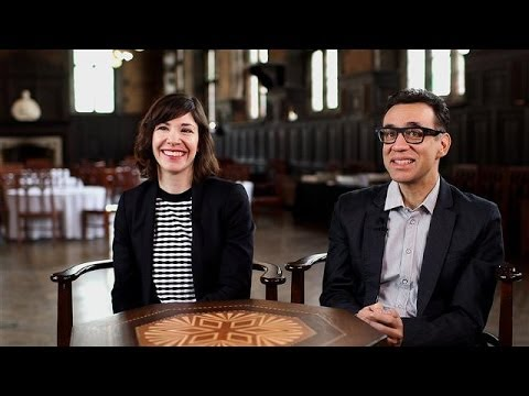 Fred Armisen And Carrie Brownstein, Guides To 'portlandia' video