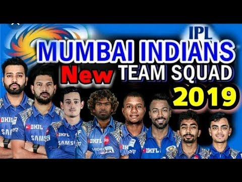 IPL 2019 MUMBAI INDIANS FINAL SQUAD