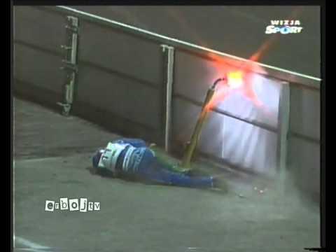 Żużel: Wypadek Tomasza Golloba (1999)