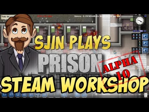 Prison Architect Alpha #10 - The Steam Workshop