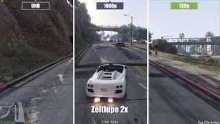 GTA 5 PC | High - Medium - Low | Grafikvergleich / Graphics comparison