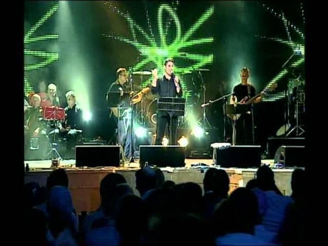 גד אלבז בהופעה חיה בקיסריה - אינשאללה  Gad Elbaz Live In Caesarea - Inshala