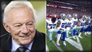 Jerry Jones To Sue Antifa Goodell & Even Antifa NFL Owners!