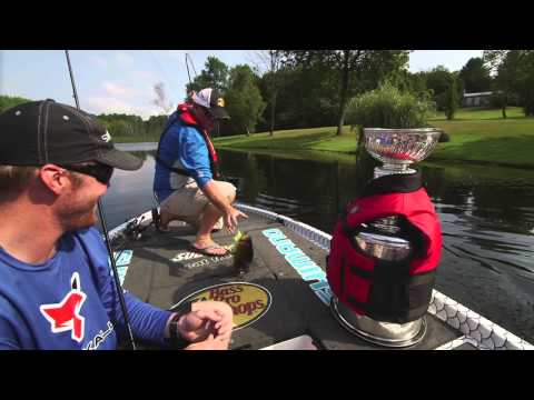 Throwing Swimbaits for Big Bass With Bryan Bickell & The Stanley Cup - Facts of Fishing THE SHOW