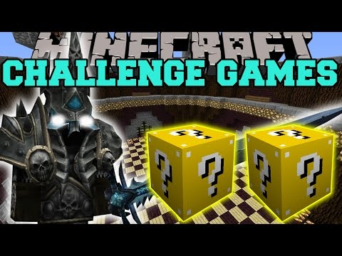 Minecraft: Lich King Challenge Games - Lucky Block Mod - Modded Mini-game video