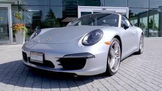 Certified Pre-Owned 2014 Porsche 911 Carrera 4S Cabriolet at Porsche Centre North Toronto