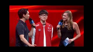 Faker on NA Solo Que - Ping Sucks