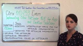 1Y0-253–Citrix Exam Implementing Citrix NetScaler Test Solutions Questions