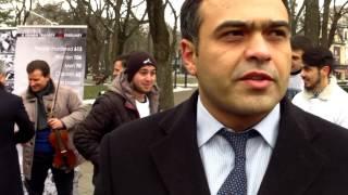 Azerii din Moldova pomenesc masacrul de la Khojaly