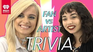 Download Lagu Bebe Rexha Challenges Super Fan In Trivia Battle | Fan Vs. Artist Trivia Gratis STAFABAND