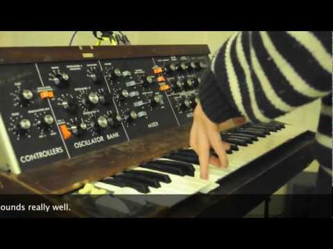 Minimoog Model D vs Moog Voyager Comparison