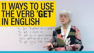 11 uses of the verb