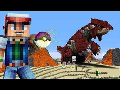 Minecraft vs Pokemon Go   GIGA GROUDON APPEARS!