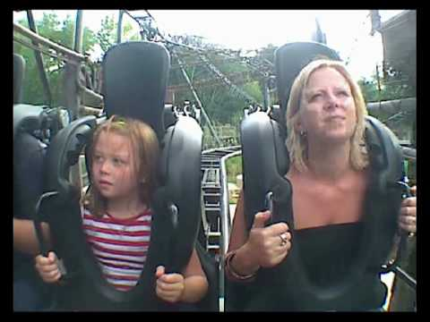 Funny Girl on Saw the Ride