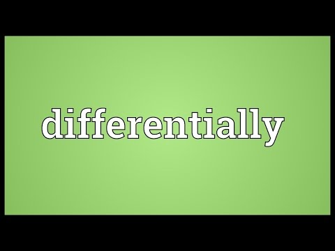 Header of differentially