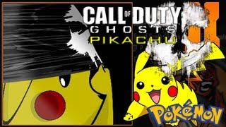 Call Of Duty Ghosts Pikachu Emblem Tutorial - Black Ops 2 / Pikachu In Ghosts Mask Video!