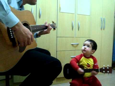 "From Brazil: 2-year-old boy and his father cover ""Don't Let Me Down"" - Don't Let Me Down - The Beatl"