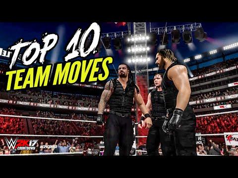 WWE 2K16 TOP 10 TAG TEAM MOVES! | WWE 2K17 Countdown