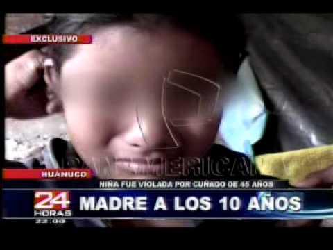 Niña de 10 años es mamá por violación en Huanuco